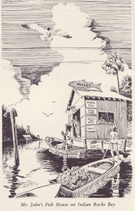 Illustration from the Gasparilla Cookbook