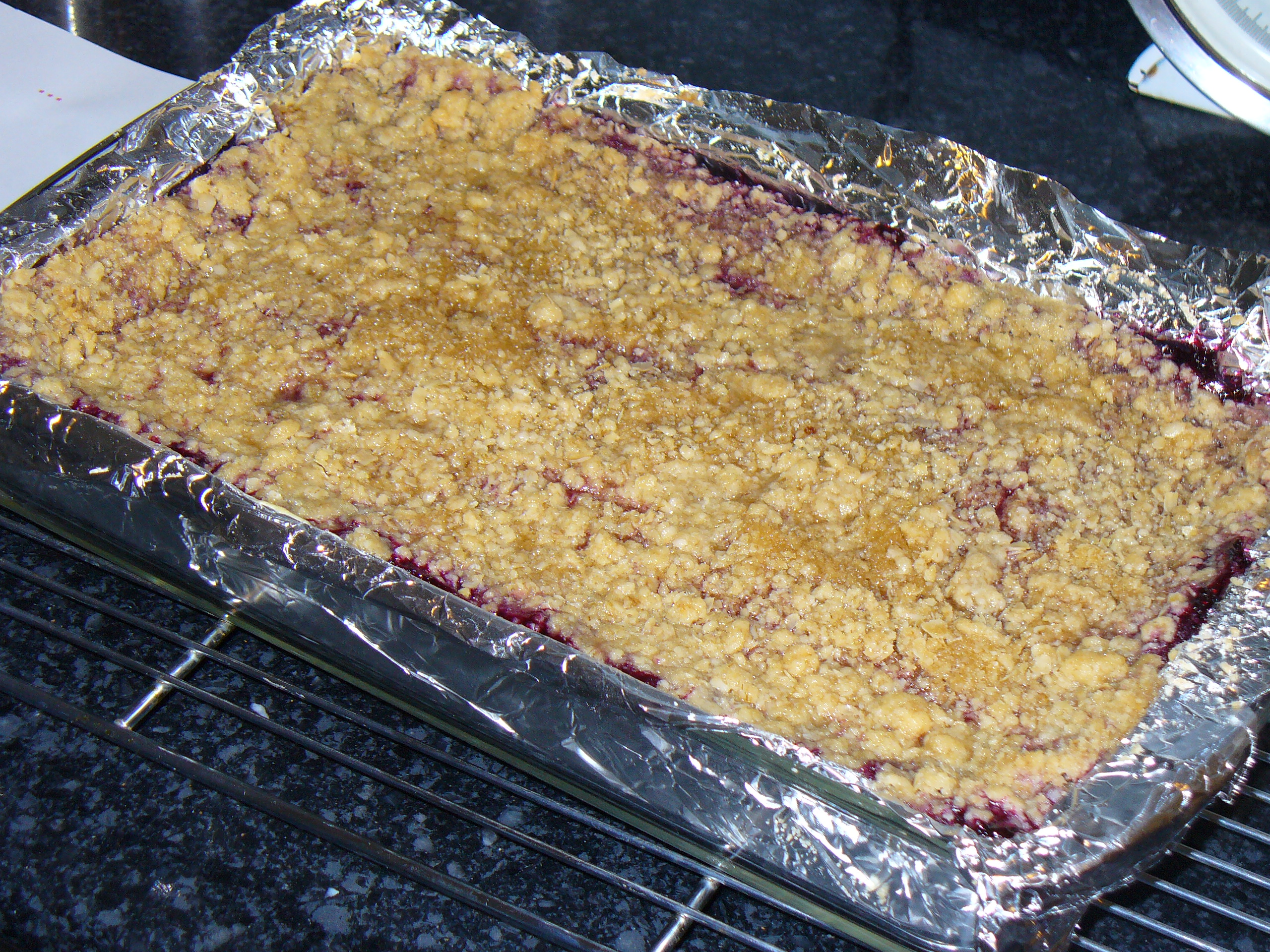 ... the Coast – Recipe sneak peek – Blueberry Crumble Cheesecake Bars