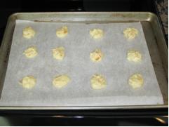 Baking Marmalade Cookies