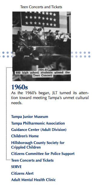 The Junior League of Tampa - 1960