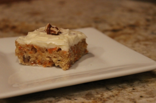 Bern's Carrot Cake Brownie
